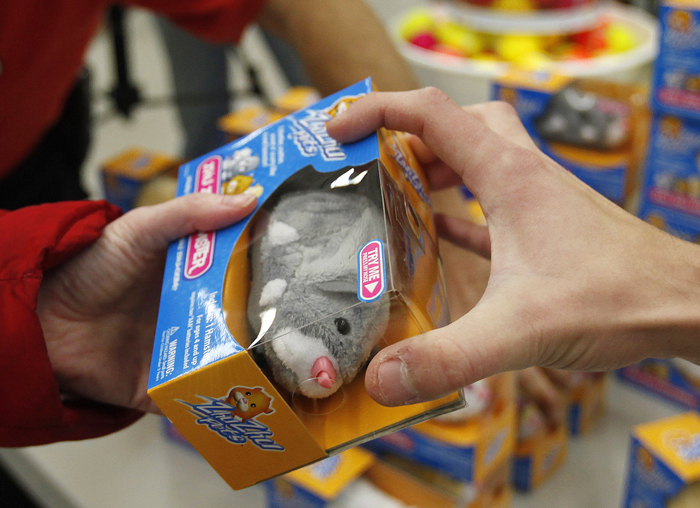 Zhu Zhu Pets are quickly claimed at Toys