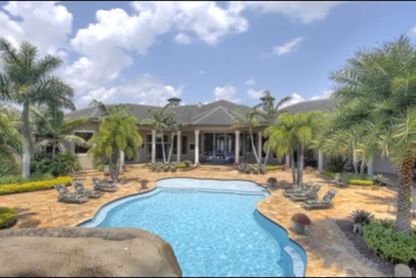 NBA All-Star Amar'e Stoudamire got this massive home near Fort Lauderdale at a price discount.