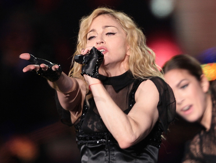 Madonna will perform at halftime during the upcoming Super Bowl.