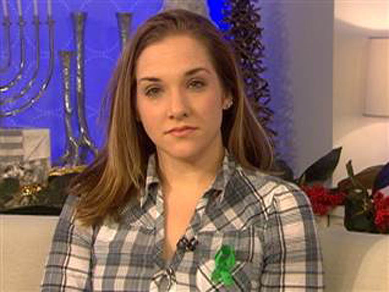 "Trista Reynolds, mother of missing 20-month-old Ayla Reynolds, speaks with the ""Today"" show on Thursday."