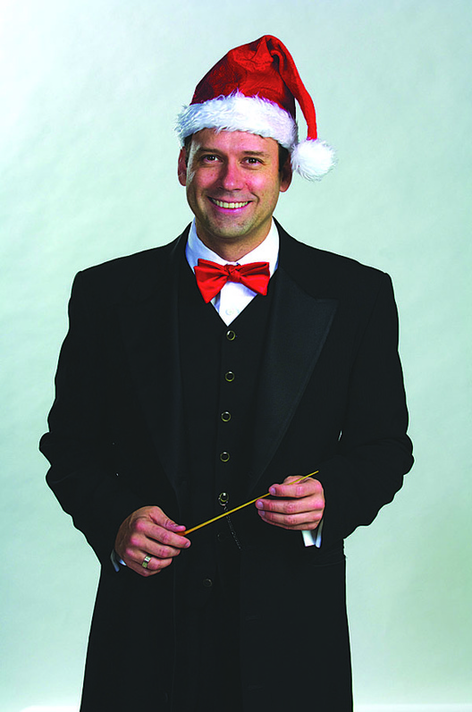"Robert Moody, the PSO's music director, will sing a solo during this year's ""Magic of Christmas"" program."