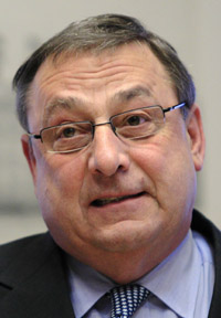 Gov. Paul LePage (AP Photo/Robert F. Bukaty)