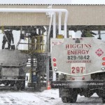 Local oil company trucks fill up at the Sprague facility in South Portland last winter.