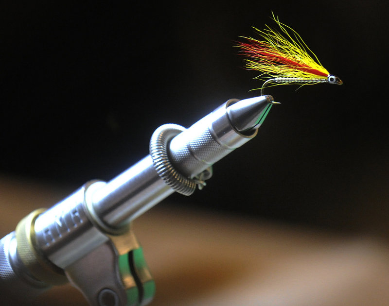 A video of a Mickey Finn being tied, with Kevin McKay instructing, has drawn more than 11,000 hits. Various fly tying classes can be seen at www.maineflyfish.com. Other classes are due for www.flyfishinginmaine.com .