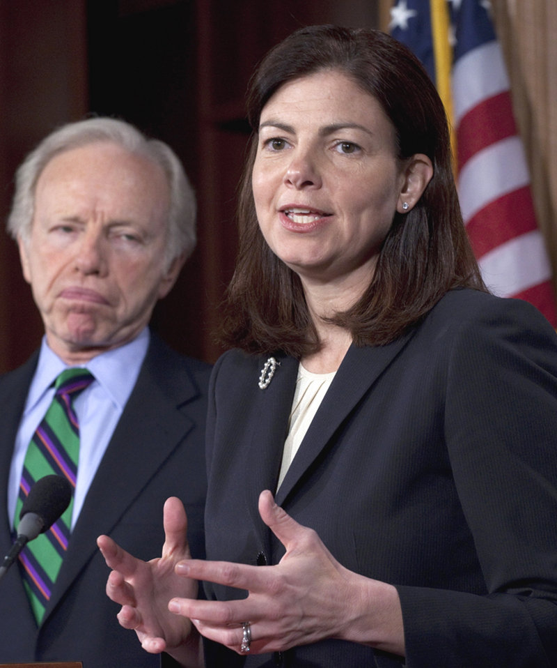 "Sen. Kelly Ayotte, R-N.H., said in defense of the legislation, ""We need the authority to hold those individuals in military custody so we aren't reading them Miranda rights."""