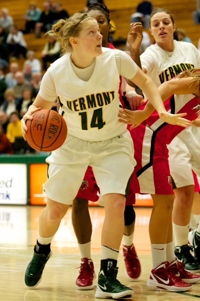 Nicole Taylor of York is averaging 8.1 points and 7.5 rebounds through her first eight games at the University of Vermont, and has already earned America East Rookie of the Week honors.