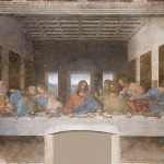 """Leonardo da Vinci's """"The Last Supper,"""" one of the world's best known paintings, has suffered over the centuries from human carelessness, humidity, pollution and wartime bombing."""