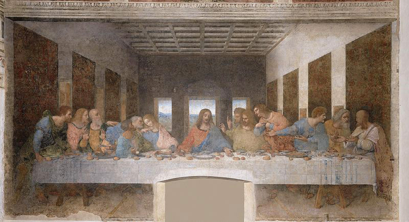 "Leonardo da Vinci's ""The Last Supper,"" one of the world's best known paintings, has suffered over the centuries from human carelessness, humidity, pollution and wartime bombing."