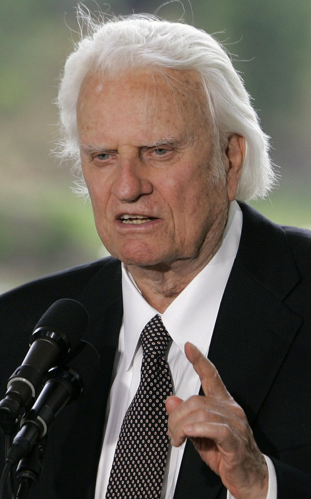 The Rev. Billy Graham was released from the hospital Tuesday after being treated for pneumonia.