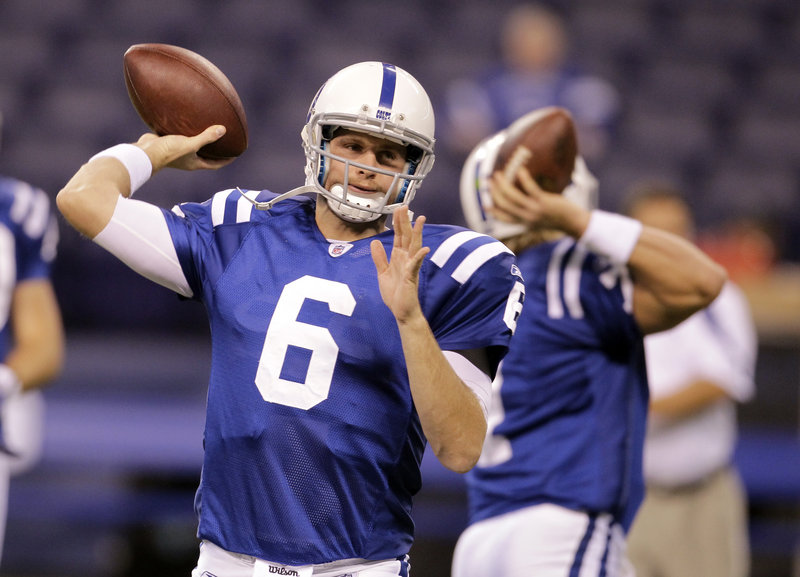 Dan Orlovsky will get his first start at quarterback today for the winless Indianapolis Colts against the Patriots. He also was part of the Detroit Lions team that was winless in 2008.