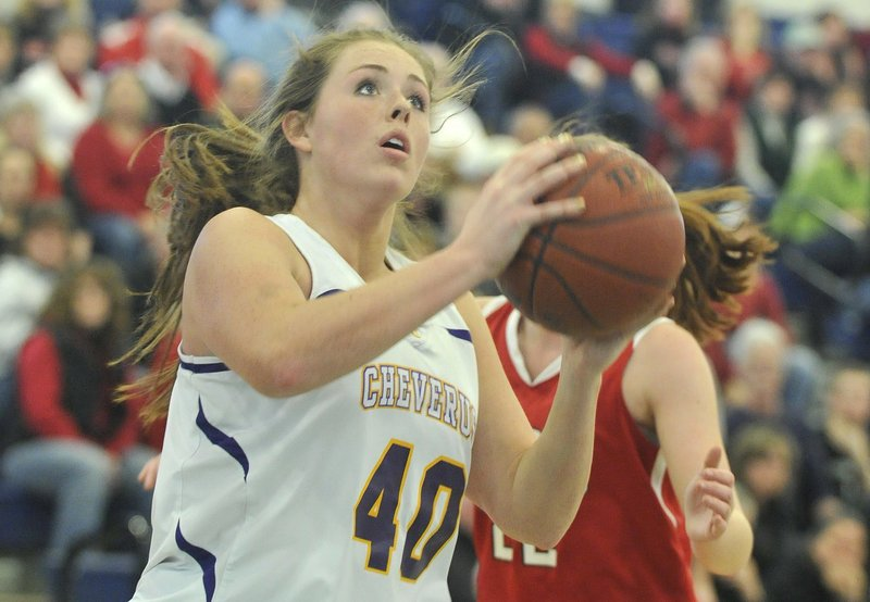 Morgan Cahill, who was a top player for Cheverus last season, transferred back to Yarmouth, where she should be a force.