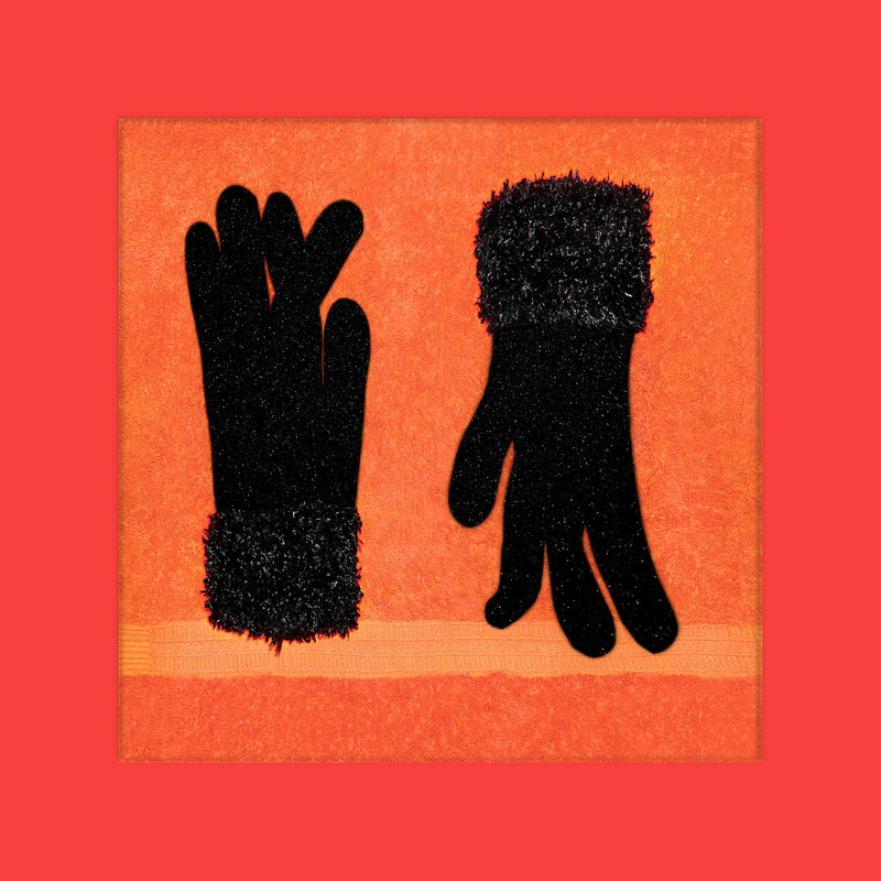 """""""Jemma's Gloves Drying"""" by Todd Watts, from """"Around the House."""""""