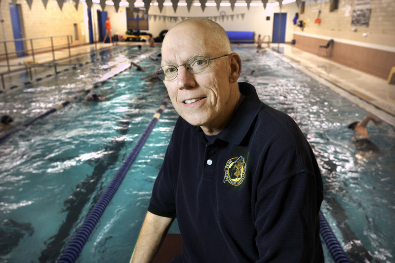 Lee Crocker, 60, who is back for a third term as the swimming coach at Portland High, has two goals for his team this year – have fun and improve.