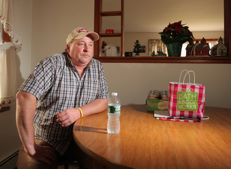 Gary Swanson lives on Oriole Street in Westbrook, near Pike Industries' Spring Street quarry. When Pike detonated explosives Friday, he felt the vibration of the blast under his feet, he said.