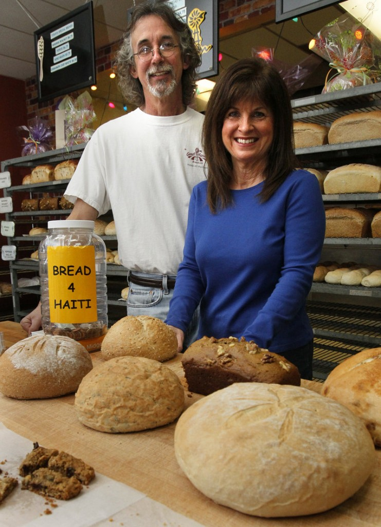 Rick and Debbi Sands, who own a Great Harvest Bread Co. franchise in Stow, Ohio, are trying to raise $150,000 toward a bakery in Ouanaminthe, Haiti.
