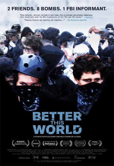 """Better This World"" will be screened tonight at Space Gallery in Portland."