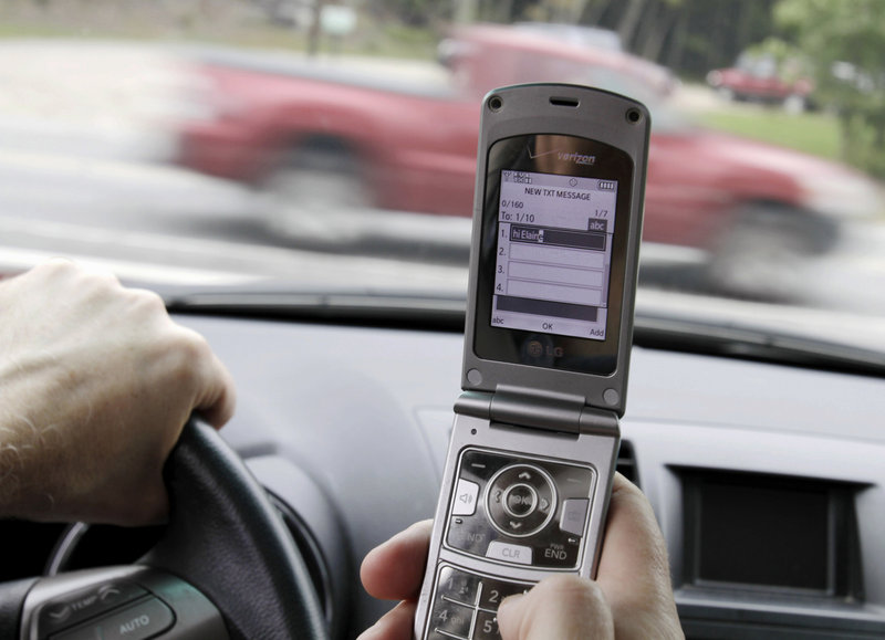 "Acknowledging that its recommendation would not be popular, the National Transporation Safety Board on Tuesday urged states to institute ""a total ban"" on the use of cellphones and other portable devices by drivers, except in emergencies."