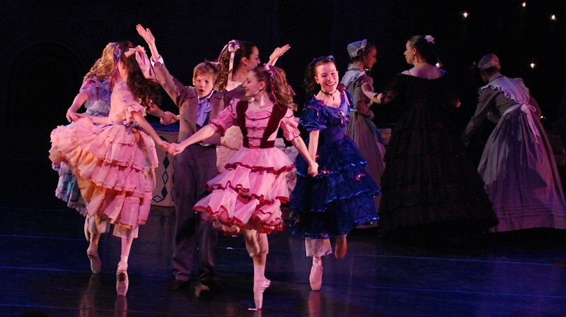 "Two performances of ""The Victorian Nutcracker"" will be staged by Portland Ballet on Friday at Merrill Auditorium."