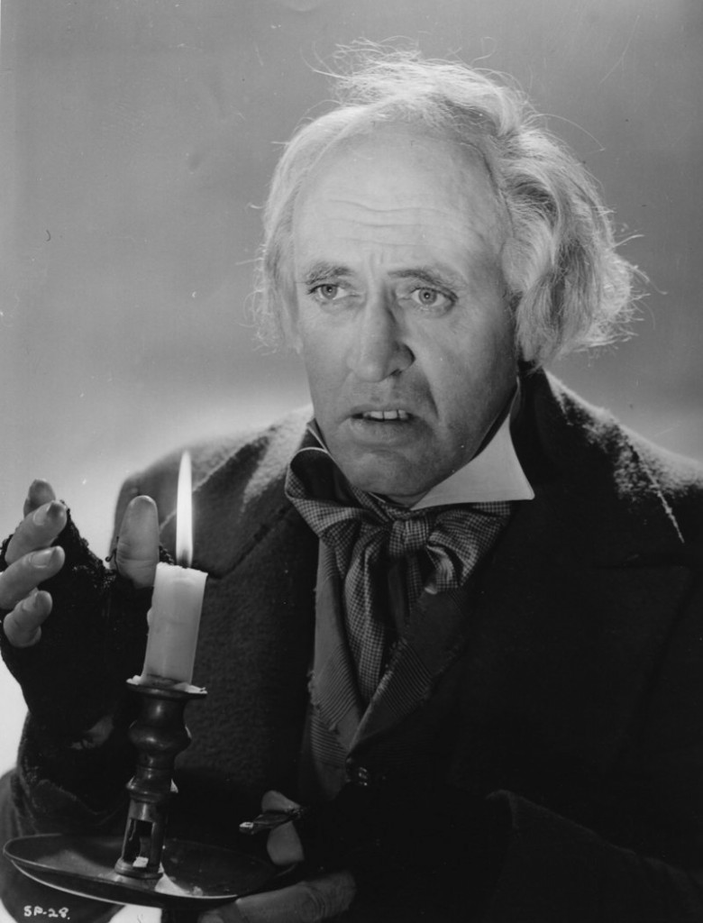 "Alistair Sim stars as Scrooge in the classic 1951 version of Charles Dickens' ""A Christmas Carol,"" which is being screened on Thursday at the Rockland Library."