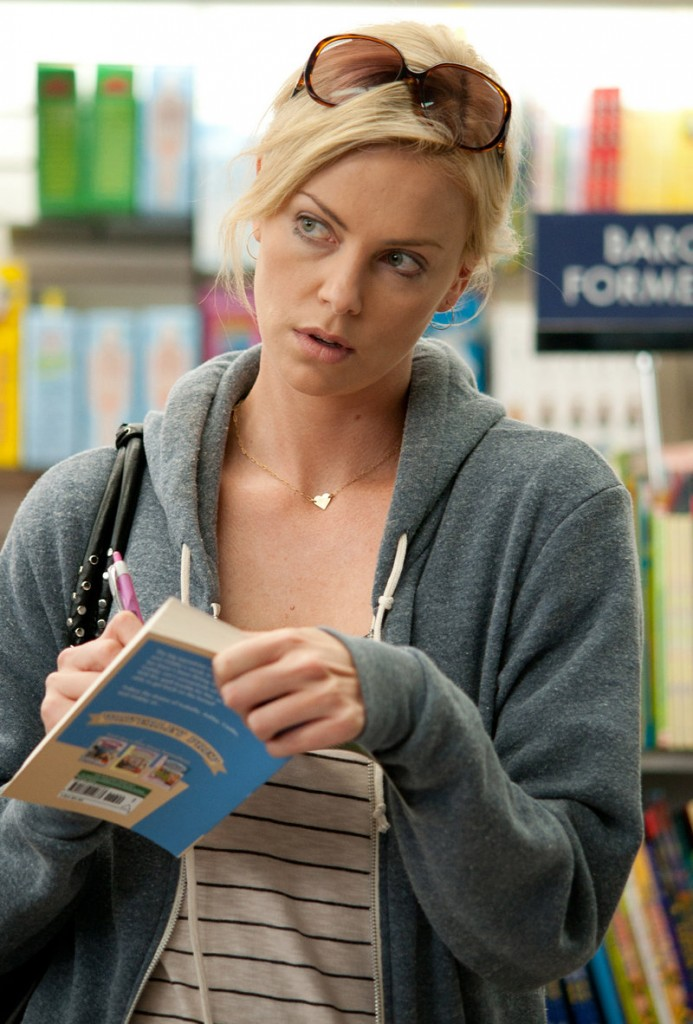 "Charlize Theron in a scene from ""Young Adult."""