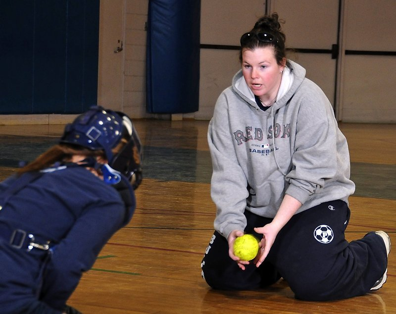 Dee Allen, who pitched Portland to the 2000 Class A title as Dee Regan and coached the Bulldogs for the past three seasons, has been hired as the Westbrook softball coach.