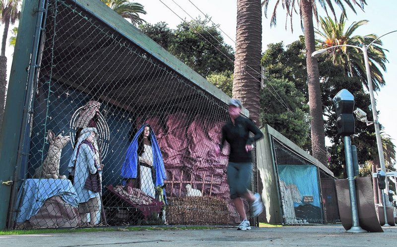 Christian congregations in Santa Monica, Calif., have organized Nativity scenes using 14 displays at Pacific Palisades Park since 1953. This year, the city doled out the spots using a lottery system, and atheists have claimed 18 of the 21 spots.