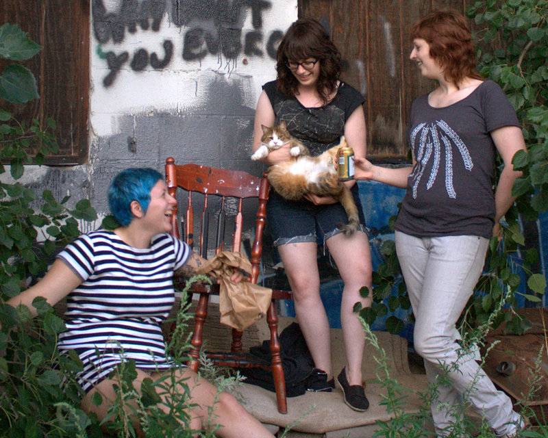 Recording a full-length album is on the agenda for early 2012 for the punk trio The Outfits, which performs on New Year's Eve at Geno's Rock Club in Portland.