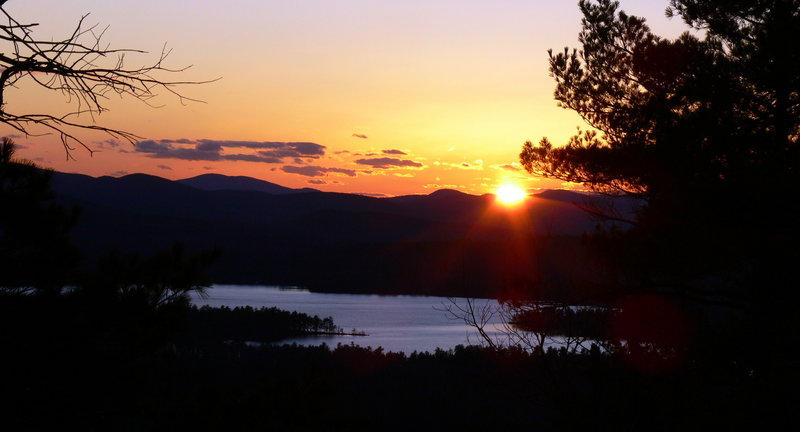 A hike up Bridgton's Bald Pate Mountain affords a grand view. Loon Echo Land Trust preserved 500 acres here in 1996.