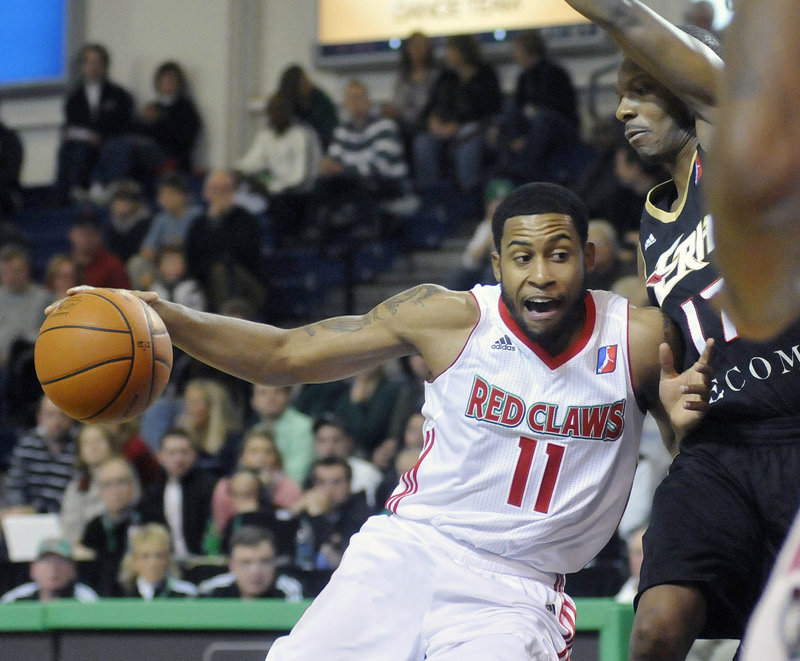 After being released by the Idaho Stampede, Courtney Pigram has become the league's leading scorer with the Red Claws, averaging 27 points in his three games so far.