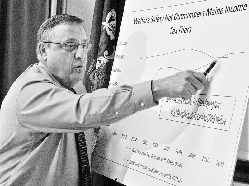 Readers have questions for Gov. LePage about proposals that would affect those on assistance.