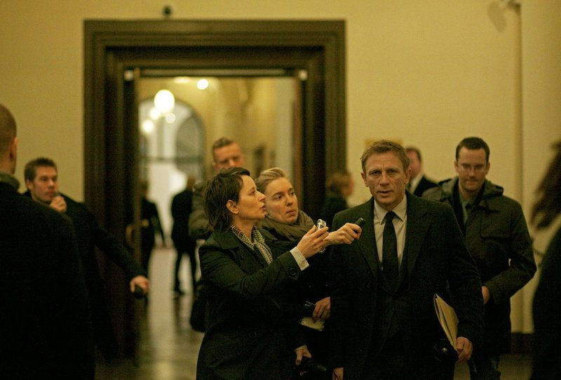 "Daniel Craig as journalist Mikael Blomkvist in ""The Girl with the Dragon Tattoo."""