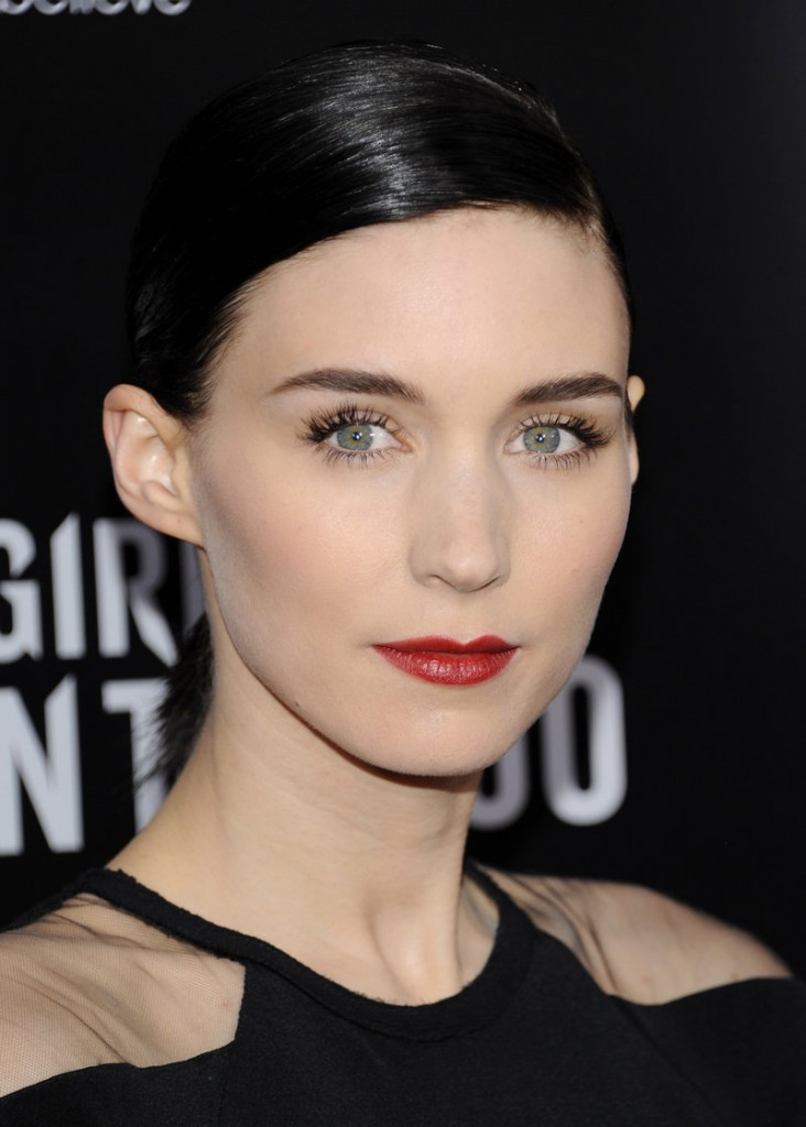 "Rooney Mara portrays Lisbeth Salander in the Hollywood adaptation of ""The Girl With The Dragon Tattoo."""