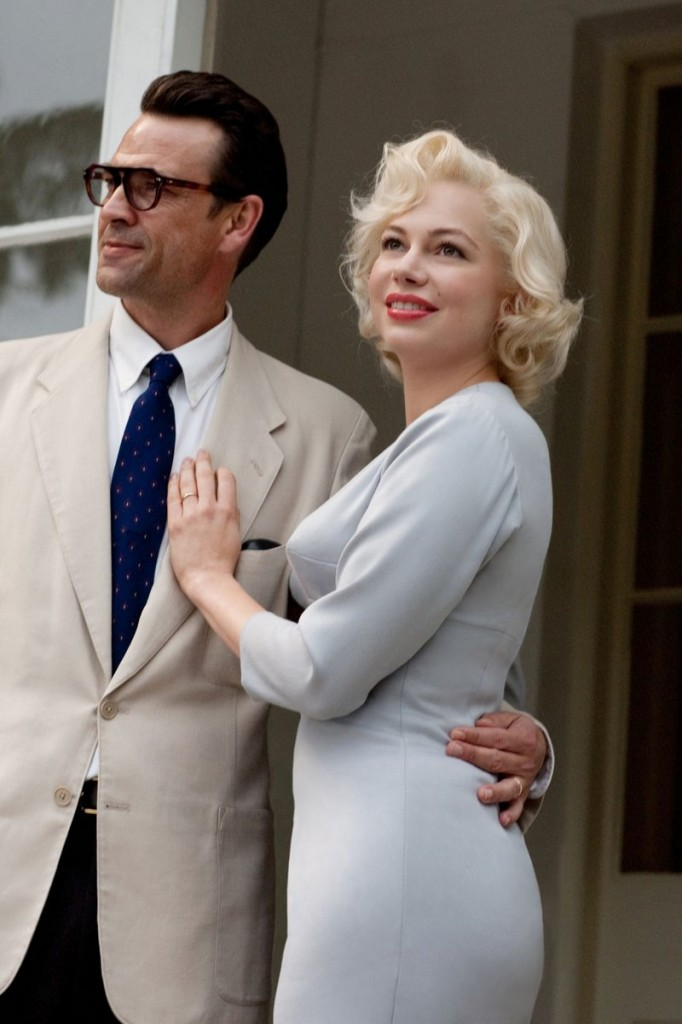 "Michelle Williams with Dougray Scott in a scene from ""My Week With Marilyn."""