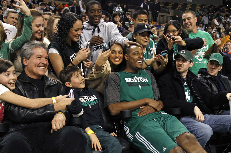 Paul Pierce started his career in Boston, certainly will end it there, and nothing would be finer for him than to have the team's fans enjoy another championship.