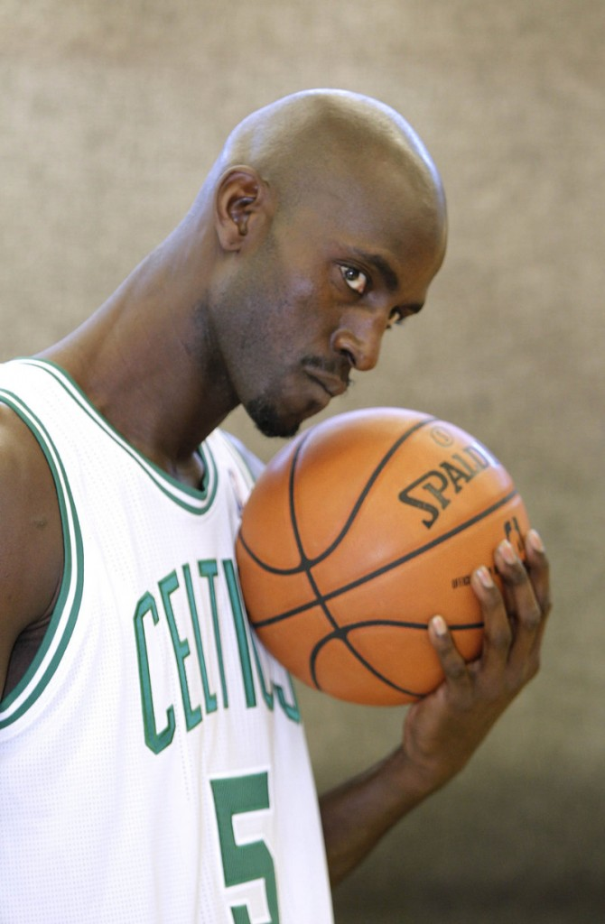 Kevin Garnett has been a workhorse throughout his career, but one of the Boston Celtics' goals will be to reduce his minutes to about 30 per game.