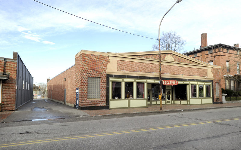"""The medical marijuana dispensary that is scheduled to open next month behind the Local 188 restaurant at 685 Congress St. in Portland is promoting a wellness center approach with free coffee and tea, acupuncture, support and a """"welcoming vapor lounge."""""""