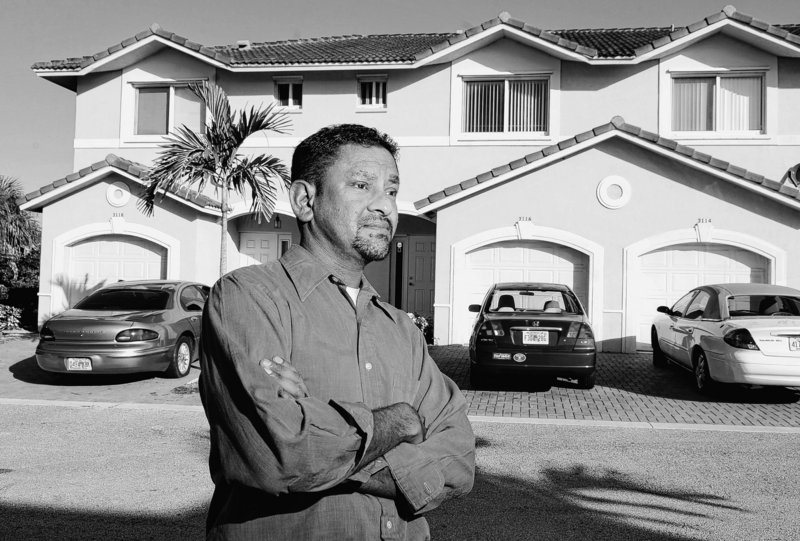 "Michael Ablack would like to sell his three-bedroom townhouse in Coral Springs, Fla., but has resorted to renting it instead. ""I never wanted to ... play the renting game because it's too much of a hassle,"" said Ablack, 34."