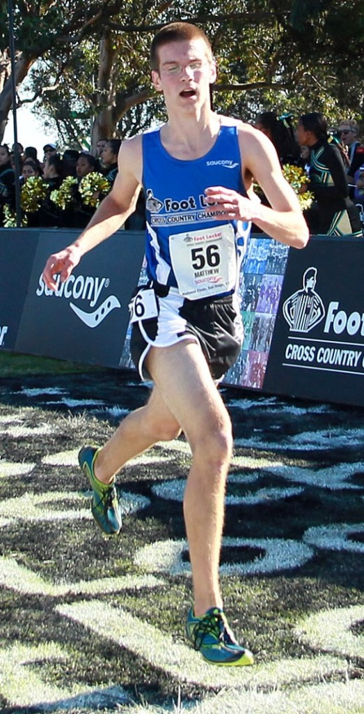 Matt McClintock of Madison High became the first Maine boy since Ben True in 2003 to achieve all-America status at the Foot Locker nationals. 2011 Footlocker Cross Country Finals FootLocker XC FootLocker CC running track and field track + field athetics