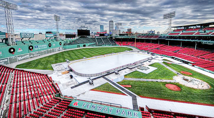 The Black Bears will play New Hampshire at Fenway Park on Saturday.