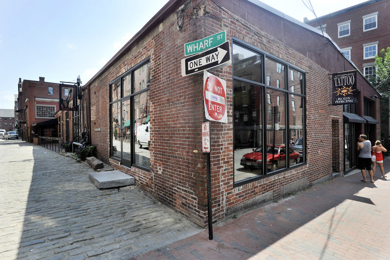 A July 22, 2011, photo of the Havana South Restaurant building at 25 Wharf St.