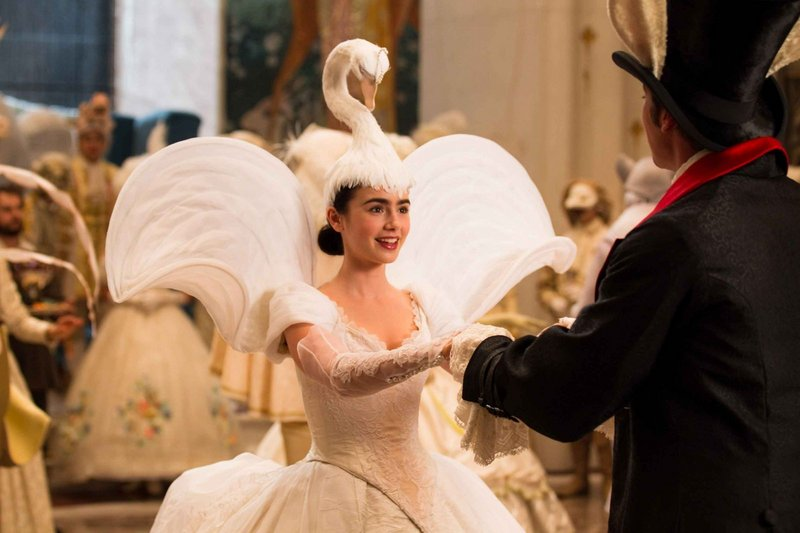 """Lily Collins as Snow White in """"Mirror Mirror."""""""