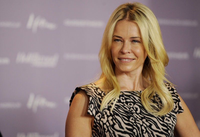 Chelsea Handler appears at The Hollywood Reporter's 20th annual Women in Entertainment Breakfast in Beverly Hills, Calif., on Dec.7, celebrating the 100 most powerful women in the entertainment industry.