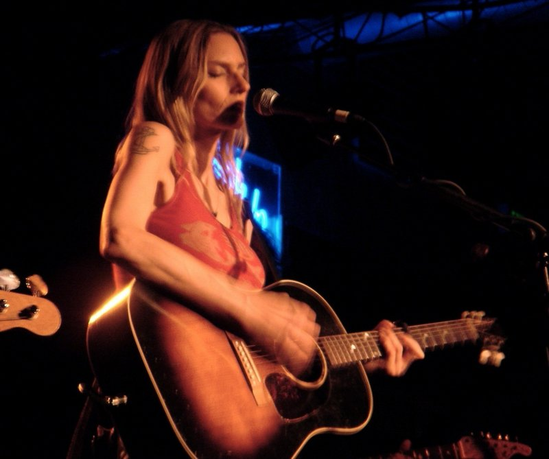 Rock/pop artist Aimee Mann is at the Stone Mountain Arts Center in Brownfield on Wednesday.