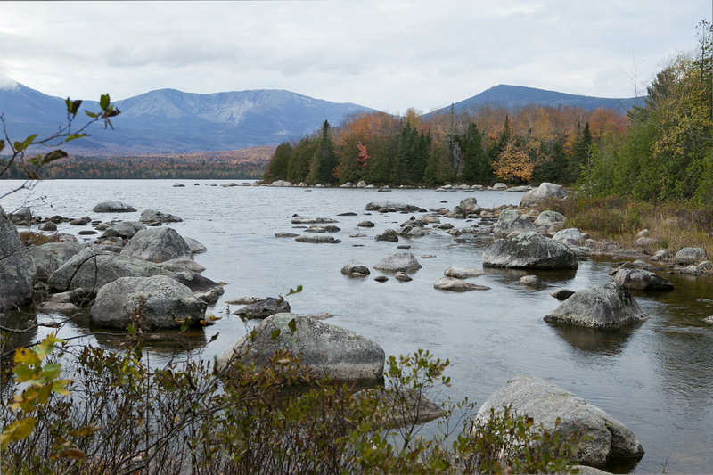 Artists, including Frederic Church, have captured the view of Mount Katahdin from the land around Katahdin Lake. It will be donated by Huber Resources Corp. to Baxter State Park today.