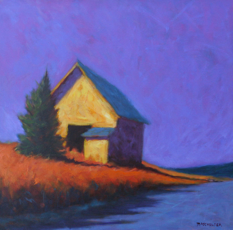 """Late October"" by Peter Batchelder."