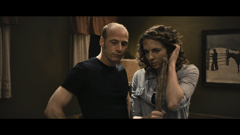 "Brian White and Jennifer Porter in a scene from ""40 West."""