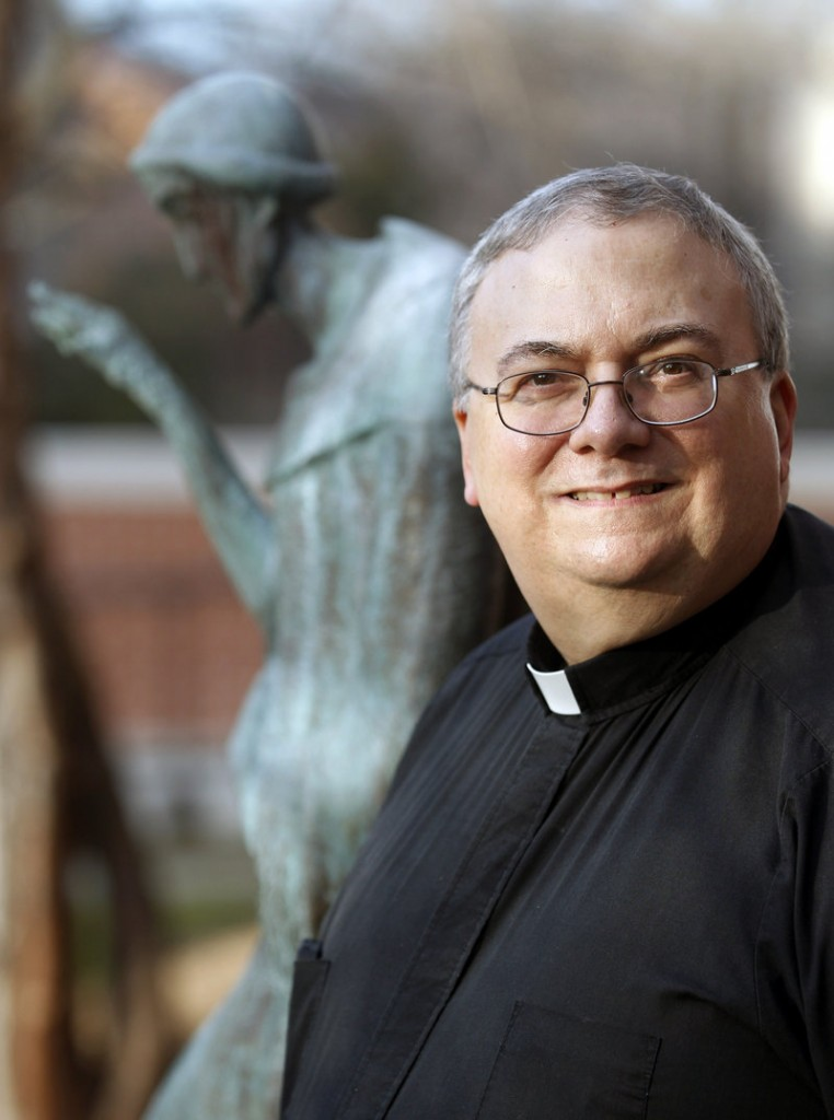 "Monsignor Patrick Lagges, canon lawyer: ""Most of us, when we were training, were preparing for marriage tribunals, marriage annulments. Now there's such a broad range of things."""