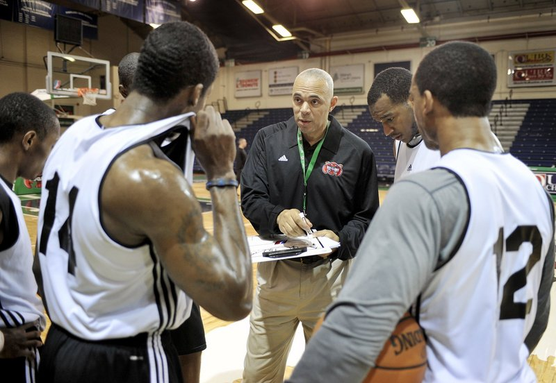 Dave Leitao, first-year coach of the Red Claws, said it's been a challenge to lead a team with such a high turnover rate. He's used 21 players in 24 games.