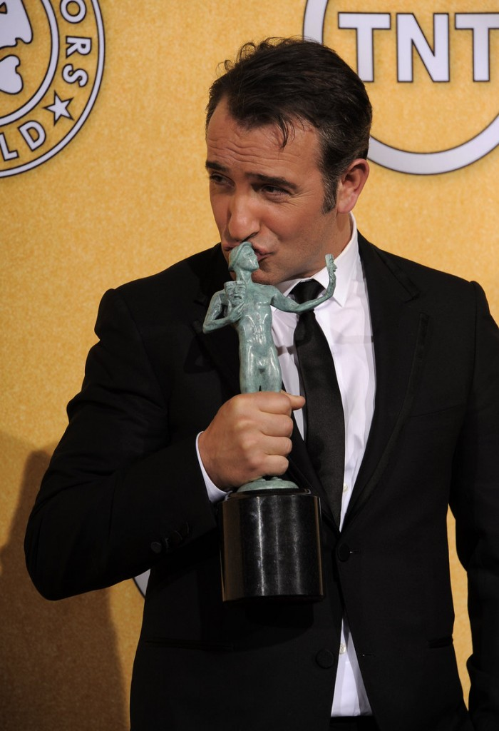 Jean Dujardin was named best actor for his role in the silent film