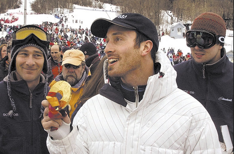 Seth Wescott of Carrabassett Valley, a two-time Olympic gold medal winner.